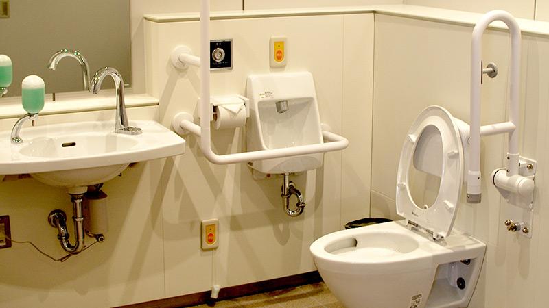 トイレ、パウダーコーナー